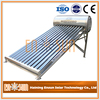 Green Energy Heat Pipe Non-Pressure Solar Water Heater