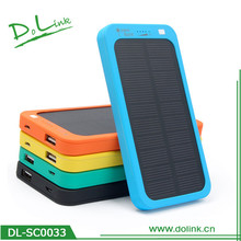 12V Solar Car Battery Charger Colored For Smartphone