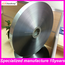 surface smoothly colored (silver blue red )double/single side aluminium foil mylar tape for cable
