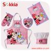 Hot sale frozen princess wholesale cotton kitchen kids apron for children
