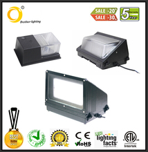 Hot new product wall pack led 40w DLC UL ETL listed meanwell driver with Philip chip
