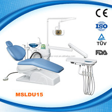 Chinese Dental Chair Unit, Best Manufacturer Dental Unit (MSLDU15-G)