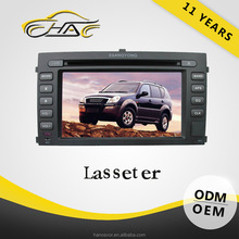 OEM Special For Ssangyong Rexton 7 inch Car DVD MP3/ MP4 Player Built In GPS Navigation With Camera