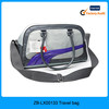 2015 China wholesale polyester outdoor plain big travel bag for unisex with PU handle