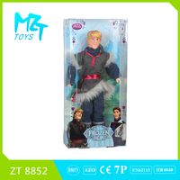 2015 New !Eco-friendly PVC11 Inch Movable Joints Prince Barbie Doll