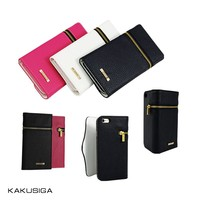 Kaku professional pu leather flip case for samsung galaxy s4