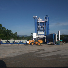 80t/h road construction material mixing equipment , asphalt mix batching plant