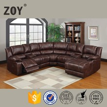 Zoy-96181 Modern Fabric Corner Sofa,Comfortable Sectional Sofa With Recliner