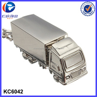 Big Truck Personalized metal Keychain For Souvenir Gifts