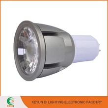 AC85-265V Aluminium & Plastic 7W led spot light bulbs