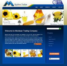 Website Design Package for Vegetable Oil Manufacturer