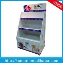 Komori cardboard shelf display