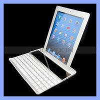 Bluetooth Aluminum Keyboard for iPad 2/3/4 Solar Panel Keyboard