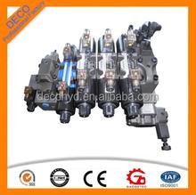 komatsu control hydraulic dump group valve