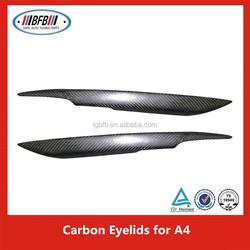 For Audi A4 Carbon Fiber Car Eyelid Car Accessory 2005-2008