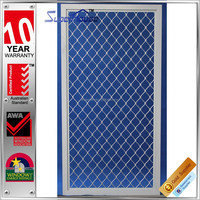 superhouse commercial system aluminum grid aluminum windows screen frame with AS2047 standard
