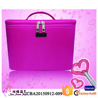 2015 Most Fashion cosmetic case and box cosmetic box makeup kit