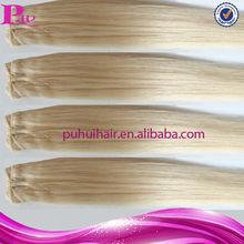 sell wholesale free sample tangle free virgin brazilian hair blonde hair extension shanghai
