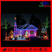 white metal lighted christmas trees 3d lighted decorative giant tree embroidery motif