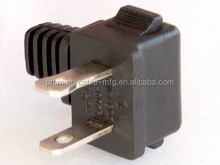 18 AWG 2-Slot Polarized Right Angle Power Cord IEC C7 to NEMA 1-15P