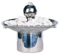 tabletop fountain with ball SEG0228