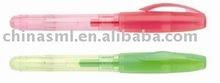 simpleness one colour plastic ball pen