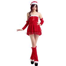christmas dance ginger girl costume FGWC-0311