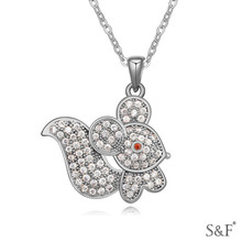 17214 Zircon Fine Jewelry gold necklace designs girls