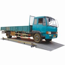 Pitless type digital electronic mobile truck scale