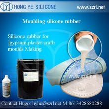 Liquid silicone wax For Gypsum ceiling Mold Making
