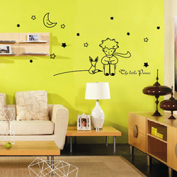 Funlife home&garden Ebay Amazon Hot sale Vinyl Wall Sticker Little Prince L1000193