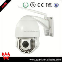 ANK HD 100 meters cctv night vision camera 10x optical zoom ptz ip camera auto focus and zoom