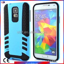 Leather Phone Case Plastic Smartphone Cover Rocket Armor Hybrid Cover Mobile Phone Accessories For Samsung Galaxy S5 I9600