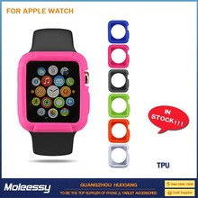 Brand new crystal protective pc and tpu cover for apple watch