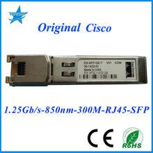 Original DS-SFP-GE-T SFP Optical modules 850nm 1.25G 100M transceivers cisco nm 16a network module