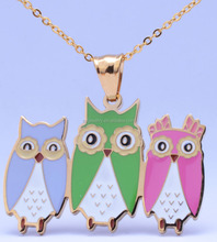 SS0094 design fashion pendant jewelry unique animal shape stainless steel