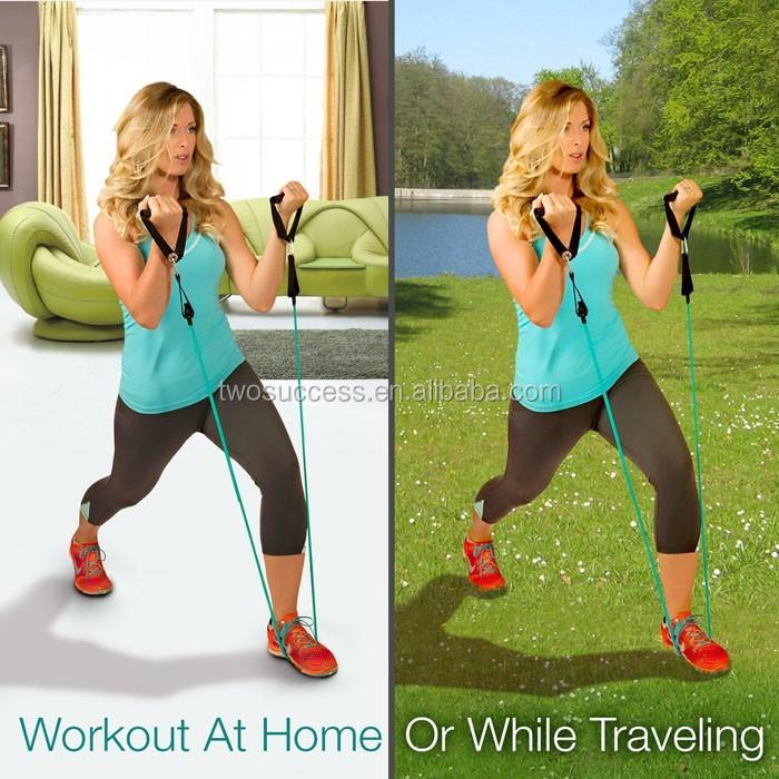 Latex Resistance Gym Training Tube Band Exercise Cords