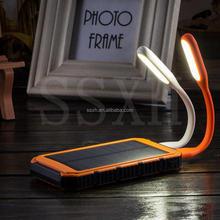 Fashion portable solar power bank case,portable mobile solar charger