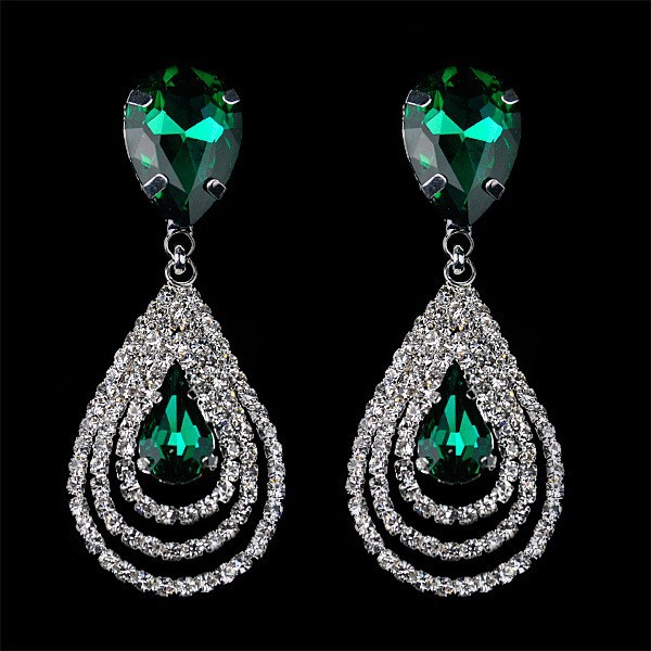 Christina-Sparkling-dangle-crystal-earrings-brincos-glass-water-drop-rhinestone-earrings-2014 (1)
