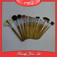 MSQ 20pcs Bamboo Make up Brush Special Set Design