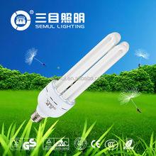 hot sell U SHAPE 110v 40w E27 6400K 4U CFL with competitive price