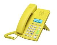 Fanvil X3P Yellow Icon, Alternative of Yealink T21P, Black POE H323 VOIP Phone