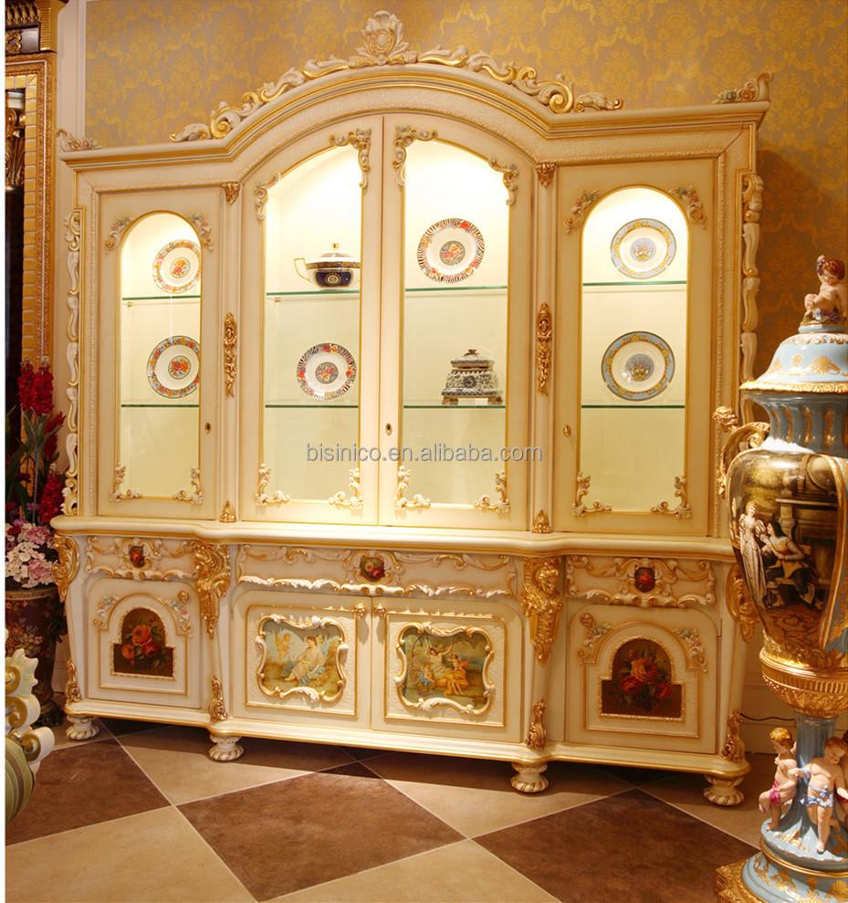 Luxury French Rococo Style Goldleaf