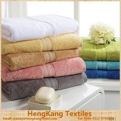 Luxury Five Star Hotel Bath Towel 100% Cotton With Customized Logo