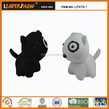 2015 new design hotsell cat toy/plush diy animal shaped pillow /