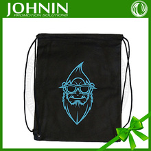 China factory professional Hot promotion 190T polyester gym drawstring bag