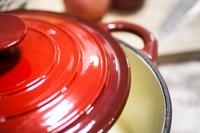 hot sale high quality red enamel/porcelain/ cast iron casserole/dutch oven /cookware