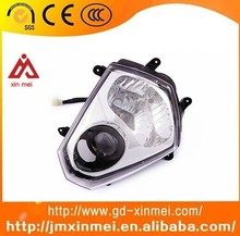 Motorcycle Head Light With Turn Lamps 12V 35/35W High Power Headlamp For Dirt Bikes