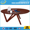 Wooden Brass Inlay Round Centre / Coffee Table
