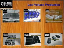 Low Volume Production Via Rapid Injection Molding and CNC and Cast Urethane